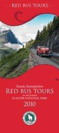 Red bus tourS - Glacier Park Inc.