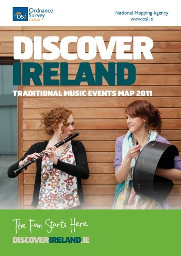 TRADITIONAL MUSIC EVENTS MAP 2011 - Discover Ireland