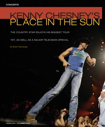 PLACE IN THE SUN - Lighting & Sound America