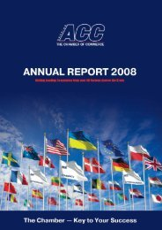 Annual Report 2008 - American Chamber of Commerce