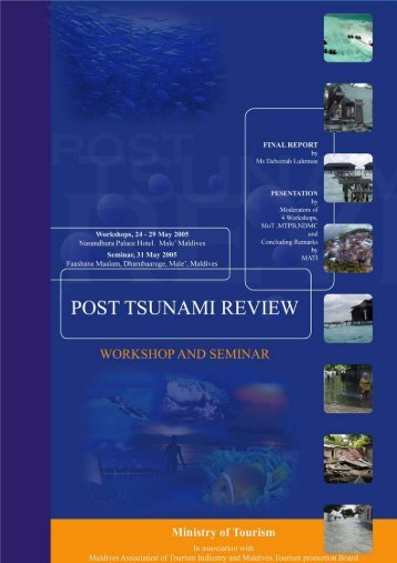 Post-Tsunami Review Seminar Final Report - Maldives Department ...