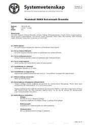 Årsmöte Extrainsatt 2012 - SAKS