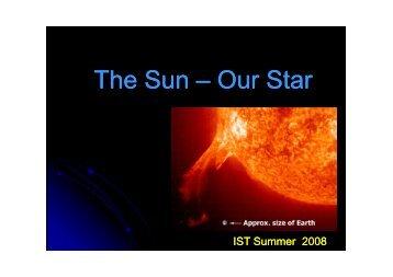 The Sun – Our Star - centra