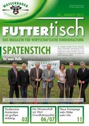 Futtertisch Ausgabe 08/2011 - Wasserbauer GmbH