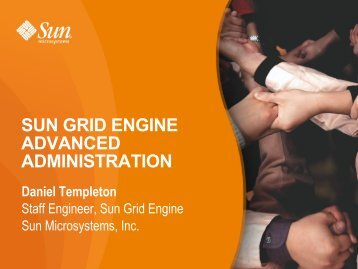 sun grid engine advanced administration - HPC, Rutgers, The State ...
