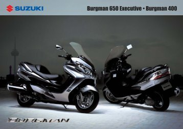 Burgman 650 Executive • Burgman 400 - Motorrad Debus Siegen