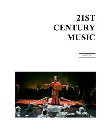 An Uncommon Interview with Belinda Reynolds - 21st Century Music