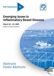 Emerging Issues In Inflammatory Bowel Diseases - Dr Falk ...