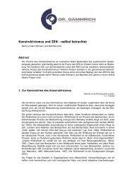 Konstruktivismus und ZEN - Dr. Dämmrich Unternehmensberatung ...