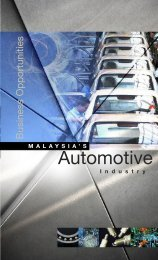 MALAYSIA'S Automotive - Malaysian Industrial Development Authority