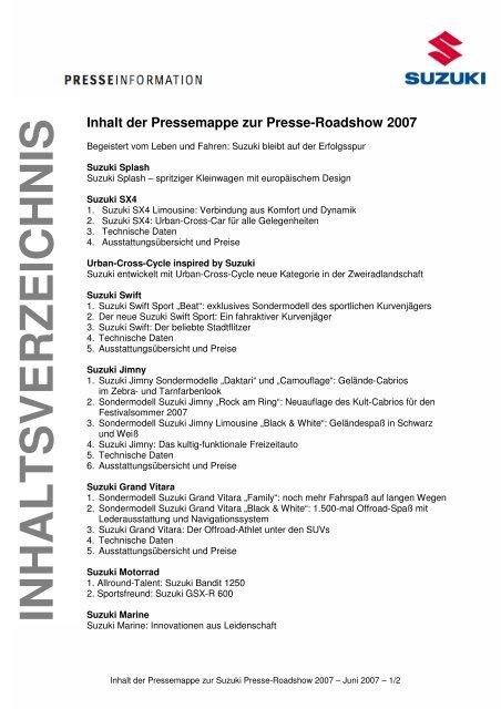 Suzuki Jimny - Presse