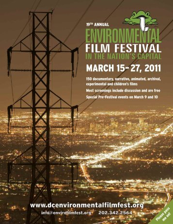 MARCH 15–27, 2011 - Environmental Film Festival