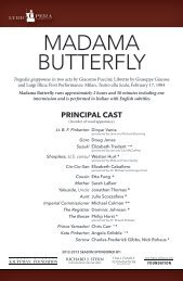 MADAMA BUTTERFLY - Lyric Opera of Kansas City