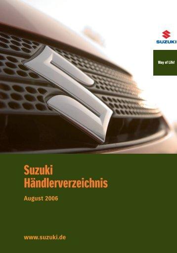 Suzuki Händlerverzeichnis