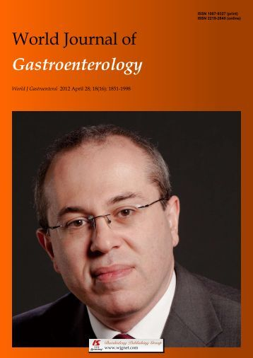 16 - World Journal of Gastroenterology