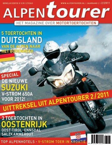 Alpentourer test NEW V-Strom 650 ABS - Suzuki