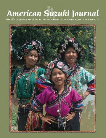 American Suzuki Journal - Tribal Music of Asia
