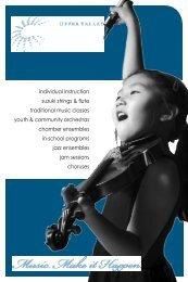 individual Instruction suzuki strings & flute traditional music classes ...