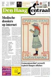 Medische dossiers op internet - Den Haag Centraal