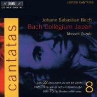 Bach Cantatas, Vol. 8 -M. Suzuki & Bach Collegium Japan (BIS CD)