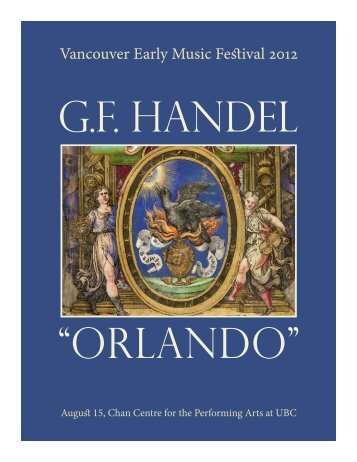 Vancouver Early Music Festival 2012