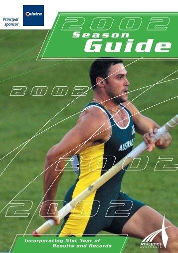 2001 - Athletics Australia