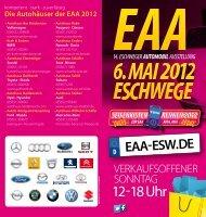 Die Autohäuser der EAA 2012