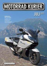 am 14. juli - Motorrad-Kurier