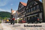 das Roadbook »Schwarzwald - Mormon Bikers