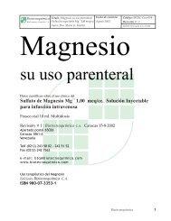 Magnesio - Infomagnesio.com