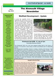 Arts Festival - Alnmouth Village Newsletters