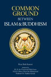 Common Ground - Islam and Buddhism
