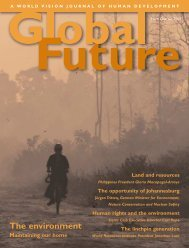 Global Future: The environment - World Vision International