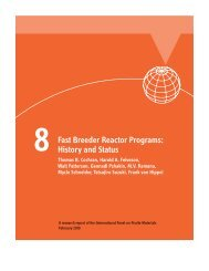 Fast Breeder Reactor Programs - International Panel on Fissile ...