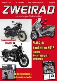 Piaggio: Neuheiten 2012 - ZWEIRAD-online