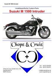 Katalog Suzuki M 1500 Intruder - Chopz & Cruiz