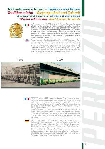 Tra tradizione e futuro -Tradition and future Tradition e futur ...