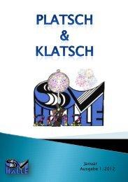Platsch und Klatsch (Vereinszeitung 01/2012) - SV Halle (Westf.) eV