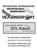 Die Stadion-Zeitung SV Cosmos Aystetten SV Hammerschmiede ... - Page 2