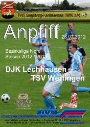 DJK Lechhausen – TSV Wertingen