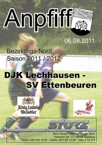 Anpfiff vom 06.08.2011 - DJK Lechhausen