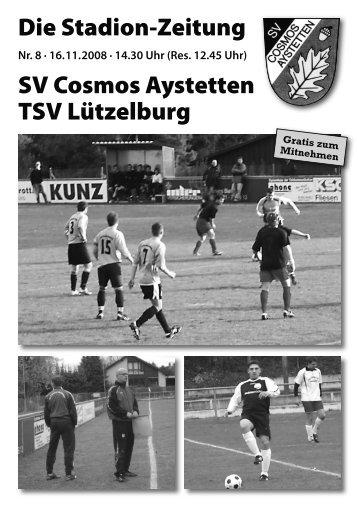 TSV Rehling 1 - SV Cosmos Aystetten