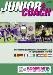 International youth football tournaments 2009 in eight ... - Event