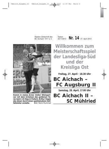 bca-aktuell - BC Aichach 1917 eV