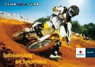 Motocrossprospekt 2009 Download PDF - Suzuki