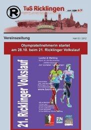 Olympiateilnehmerin startet am 28.10. beim 21. Ricklinger Volkslauf ...