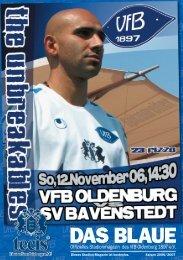 SV Bavenstedt - VfB Oldenburg