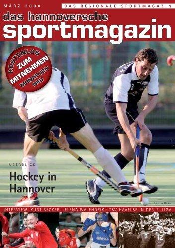 Hockey in Hannover - das hannoversche sportmagazin