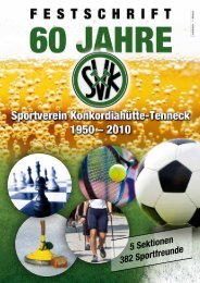 60 Jahre SVK - Konkordia