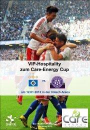 Care-Energy Cup: HSV vs. FK Austria Wien Loge (12 / 24 Personen)
